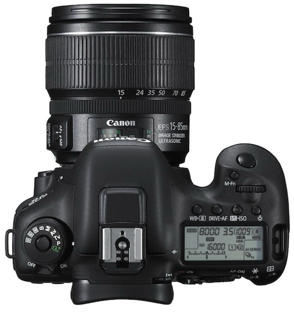EOS 7D Mark II gora